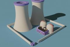 Minimalist Nuclear Plant