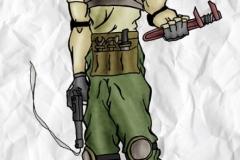 Steam Punk Soldier